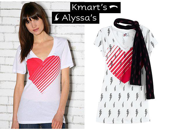 Alyssa Zukas ripped off by Kmart? You decide.