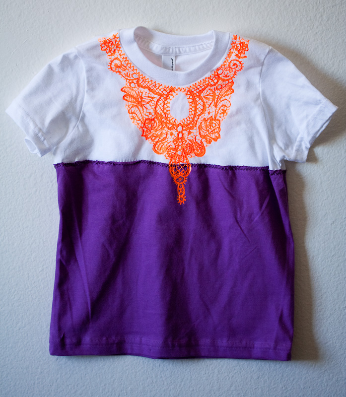 tiny two string Lace Bib Collar Colorblock Necklace Tunic