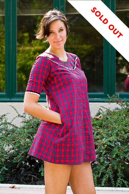 Super Cute Vintage Mini Plaid