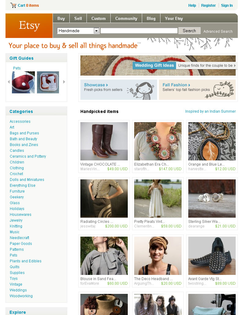 Alyssa Zukas Front Page of Etsy, Oh Yeah!