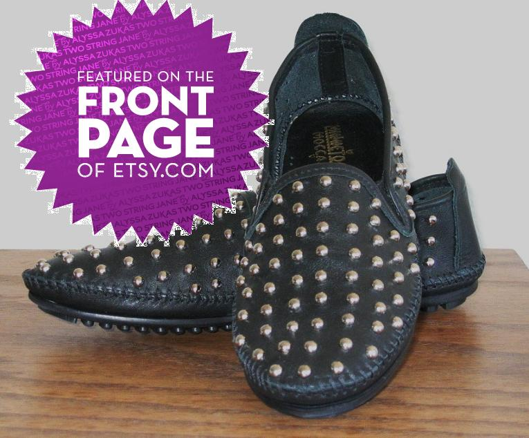 Studded Rollerball Loafers