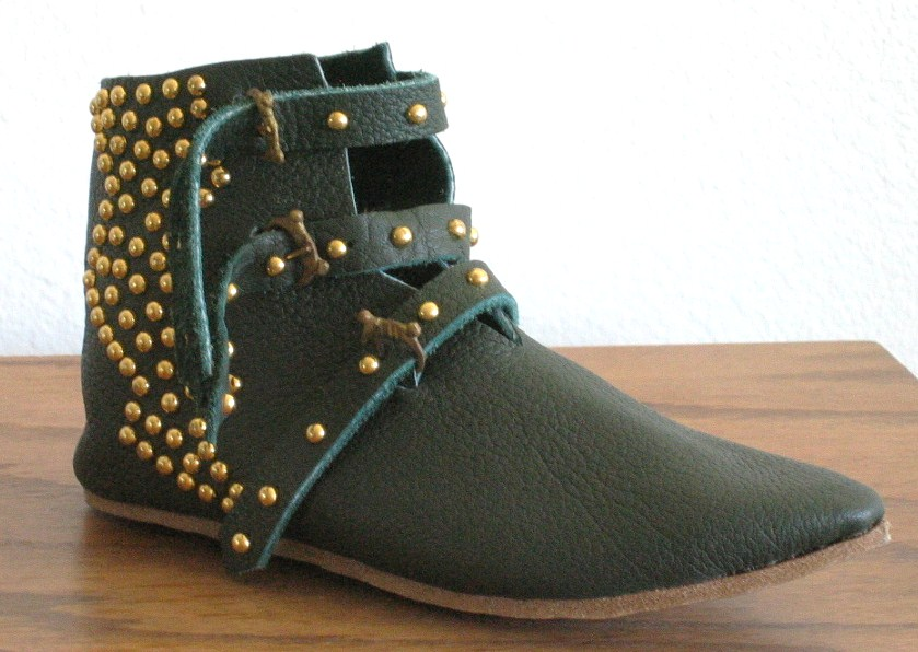 Make Your Own Superhero Lightning Bolt Studded Ankle Boots ...