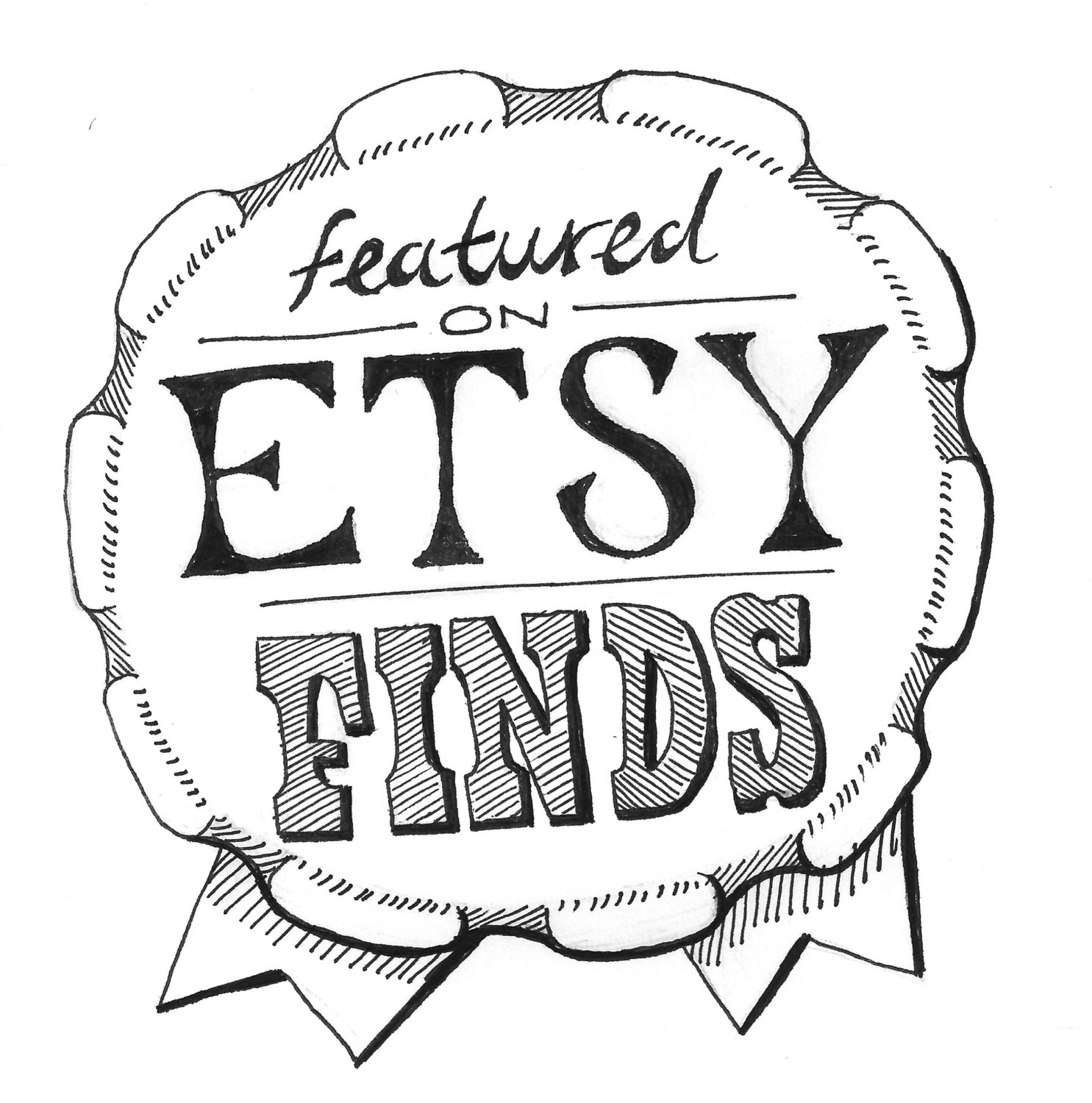 I was Featured in Etsy Finds Email badge