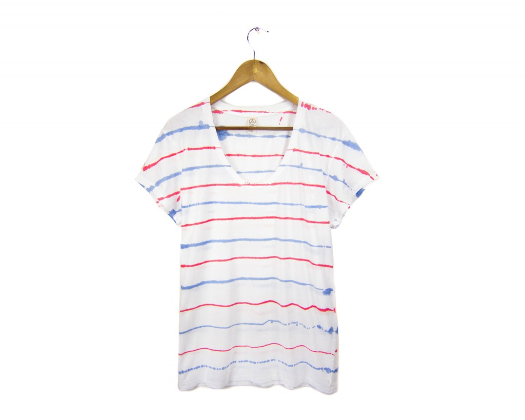 Two string jane Splash Mini Stripe Tee