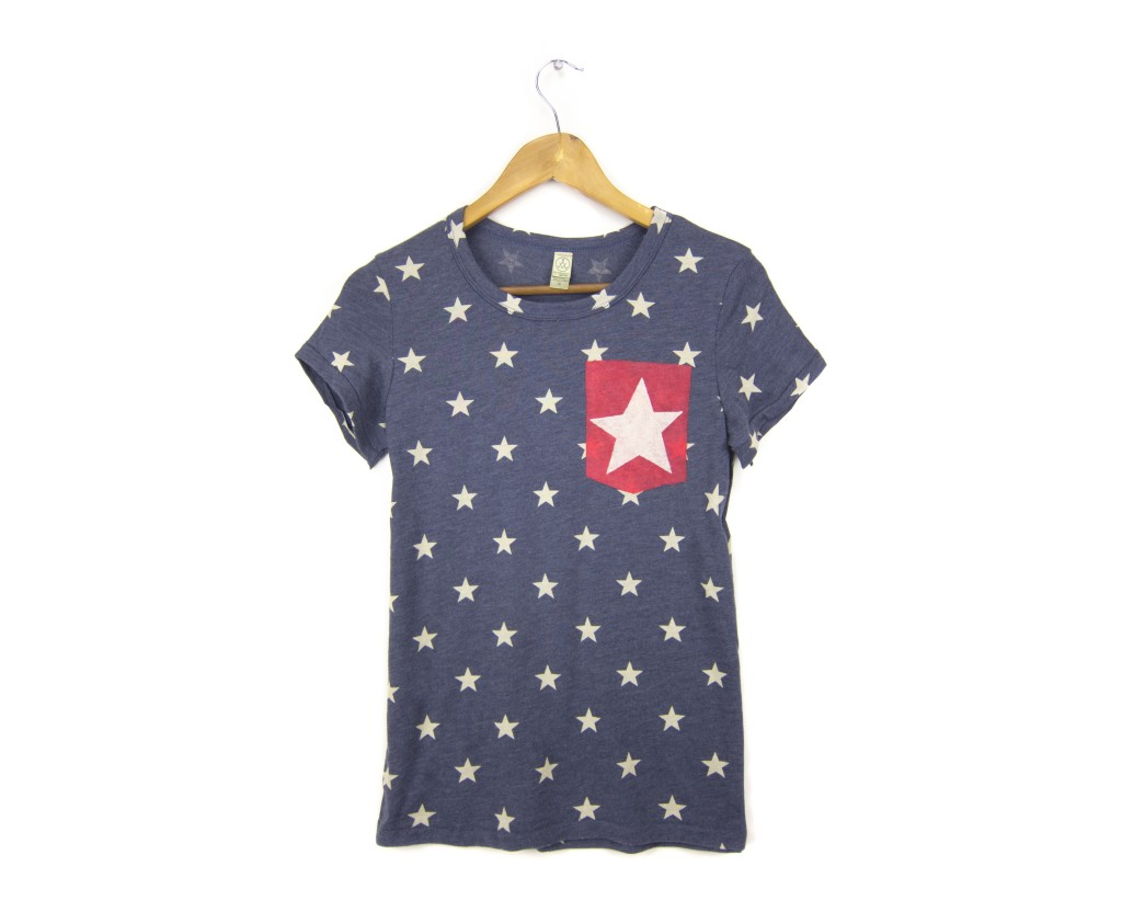 Two string jane Starry Pocket tee