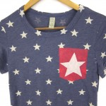 Starry Pocket Tee by two string jane