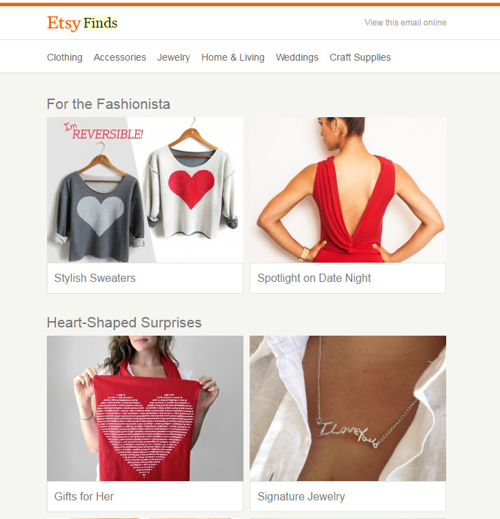 Etsy Finds Valentines