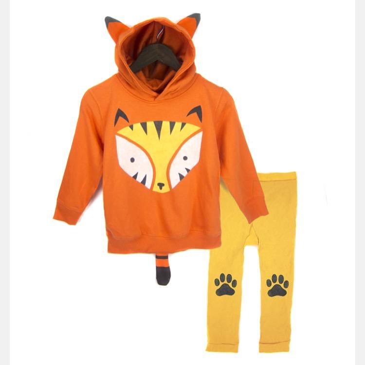 Geo Tiger hoodie