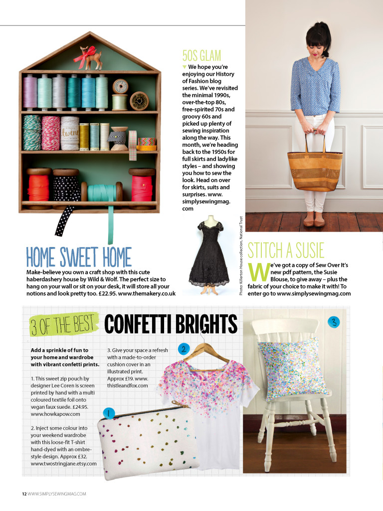 Simply Sewing issue 15 coverage
