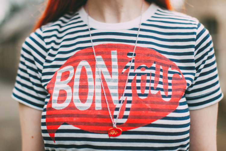 Bonjour Tee from A Clothes Horse